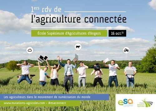#esaconnect, les 1ers rendez-vous de l'agriculture connectée