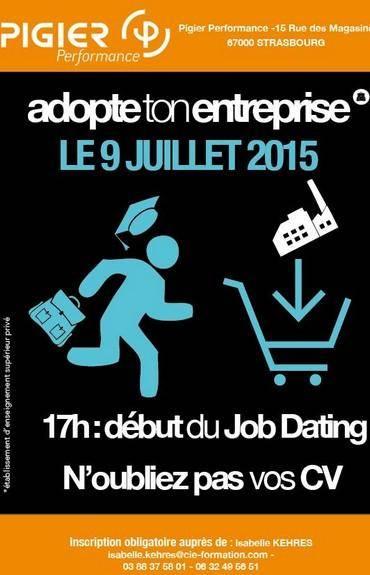 Job dating cci strasbourg
