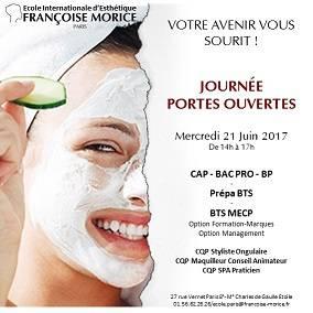 Francoise Morice JPO mercredi 21 juin 2017 à partir de 14 h