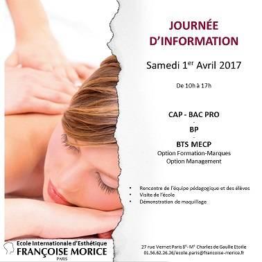 Francoise Morice JPO samedi 1er avril de 10h à 17h