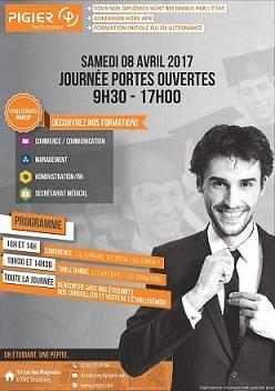 Pigier Strasbourg vous invite à sa journée Portes Ouvertes Samedi 8 avril de 9h30 à 17h