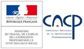 Titre RNCP de la Commission Nationale de la Certification Professionnelle