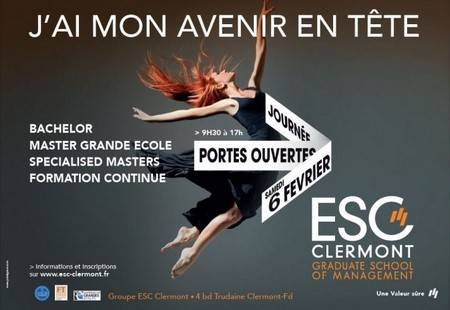 ESC Clermont : JPO 6 février 2016