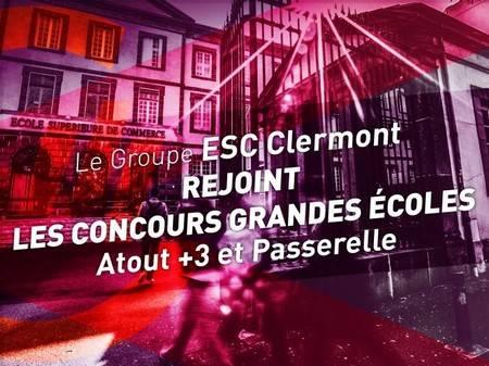 Rentrée réussie et une intégration dans les concours Passerelle et Atout+3 pour l'ESC Clermont
