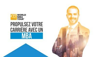 Salon QS World MBA Tour à Paris le Samedi 7 octobre 2017