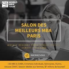 QS World MBA Tour - Samedi 7 octobre 2017