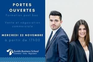 Euridis Lyon - JPO mercredi 22 novembre 2017