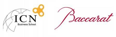 Partenariat ICN Business School et Baccarat