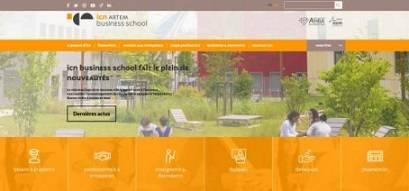 Nouveau site ICN - Artem