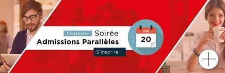 Soire Admissions Parallèles ICS Bégué