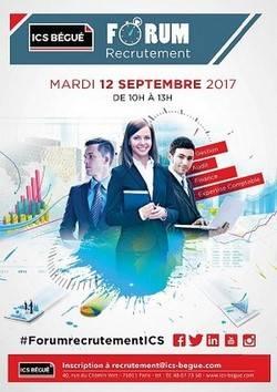 ISC Bégué -  Forum recrutement 2017
