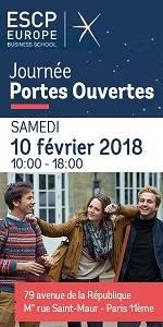Journée Portes Ouvertes ESCP Europe Samedi 10 février 2018