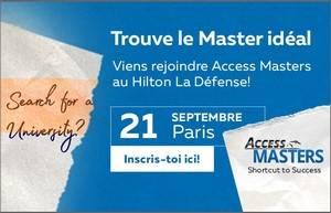 Access Masters Tour Salon des meilleurs Masters à Paris