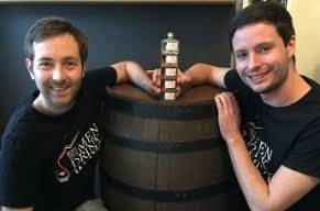 Alexis Donnio et Guillaume Charnier  co-fondateur de Private Whisky Society