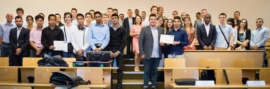 Les lauréats du Prix « Entrepreneuriat & Innovation » 2015 de l'ESIEE Paris