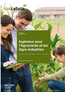 UniLASalle - Ingénieur pour l'Agronomie et les Agro-industries