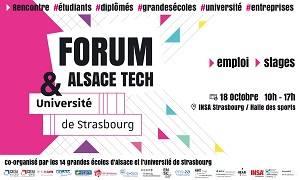 Forum Alsace Tech entreprises 18 octobre 2018